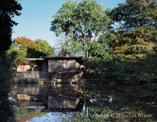 House Designed by Architect O'Neil Ford - 3615 Amherst Avenue