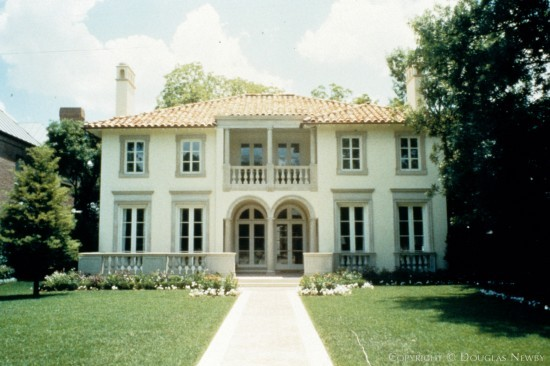 Mediterranean Residence Designed by Architect Wilson Fuqua - 3657 Maplewood Avenue