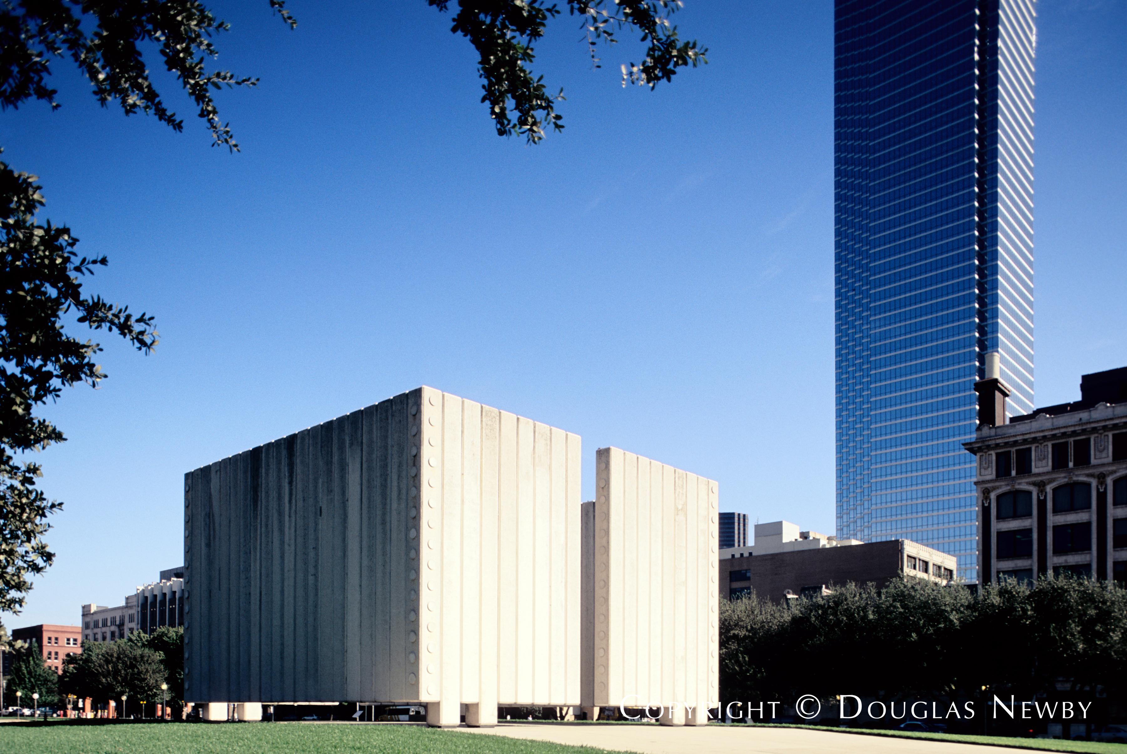 JFK Memorial Building in Downtown Dallas