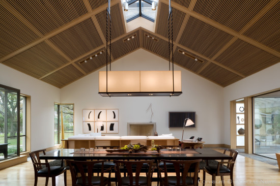 Dining Room Designed by Paul Draper