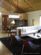 Paul Draper Designed Living Room in Home on Farquhar