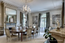 Dining Room in the Crespi Hicks Estate Home in Preston Hollow