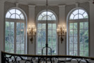 Expansive Windows in the Foyer of the Crespi Hicks Estate Home