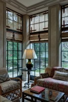Sitting Room in Preston Hollow Real Estate on 25 Acres