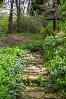 Stone Path on Estate Property