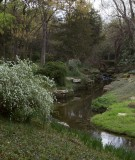 Winding Creek Running Through Dallas Estate Home