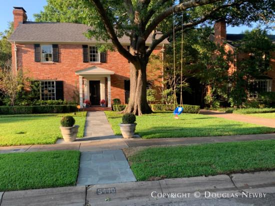Original Home in Dallas, Greenway Parks