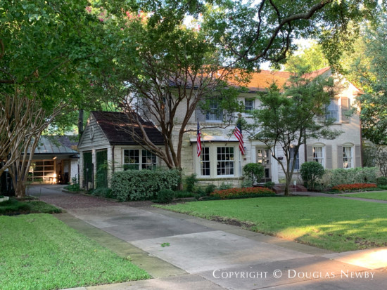 Dallas Home in Greenway Parks