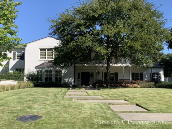 Wilson McClure Designed Home in Greenway Parks