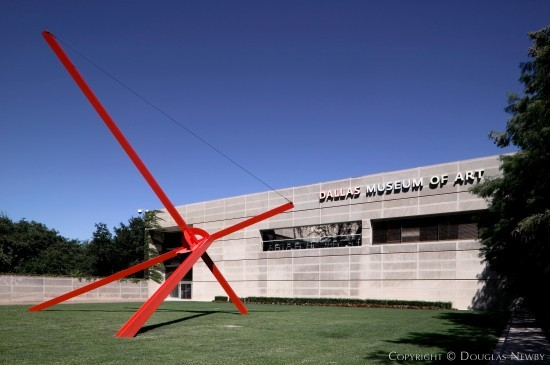Modern Building Designed by Architect Edward Larrabee Barnes - Dallas Museum of Art