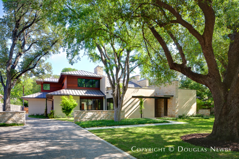Todd Hamilton Designed Modern Home in Preston Hollow