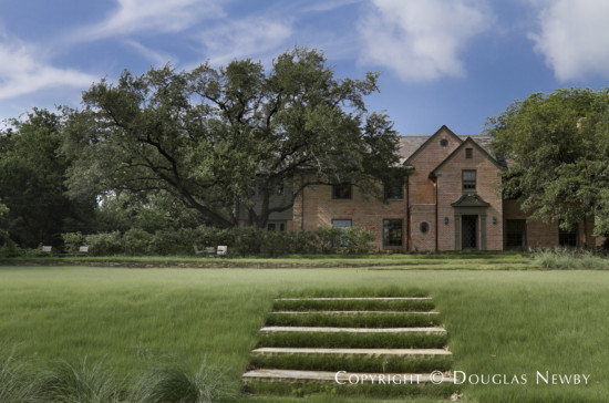 Estate Home Designed by Architect David Hocker - Renovated Hassie Hunt Original Home David Hocker Landscape Design