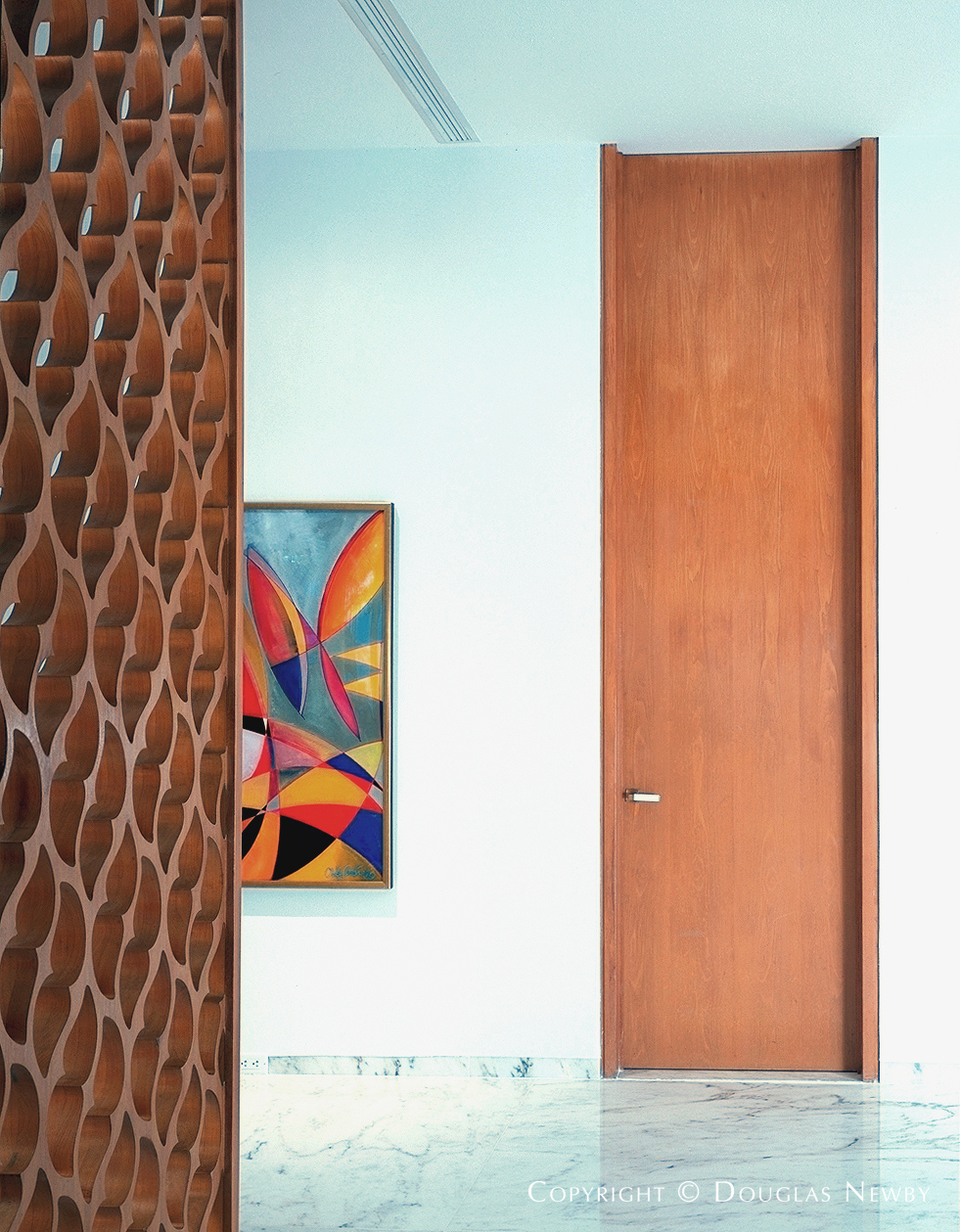 Edward Durell Stone Designed Interior