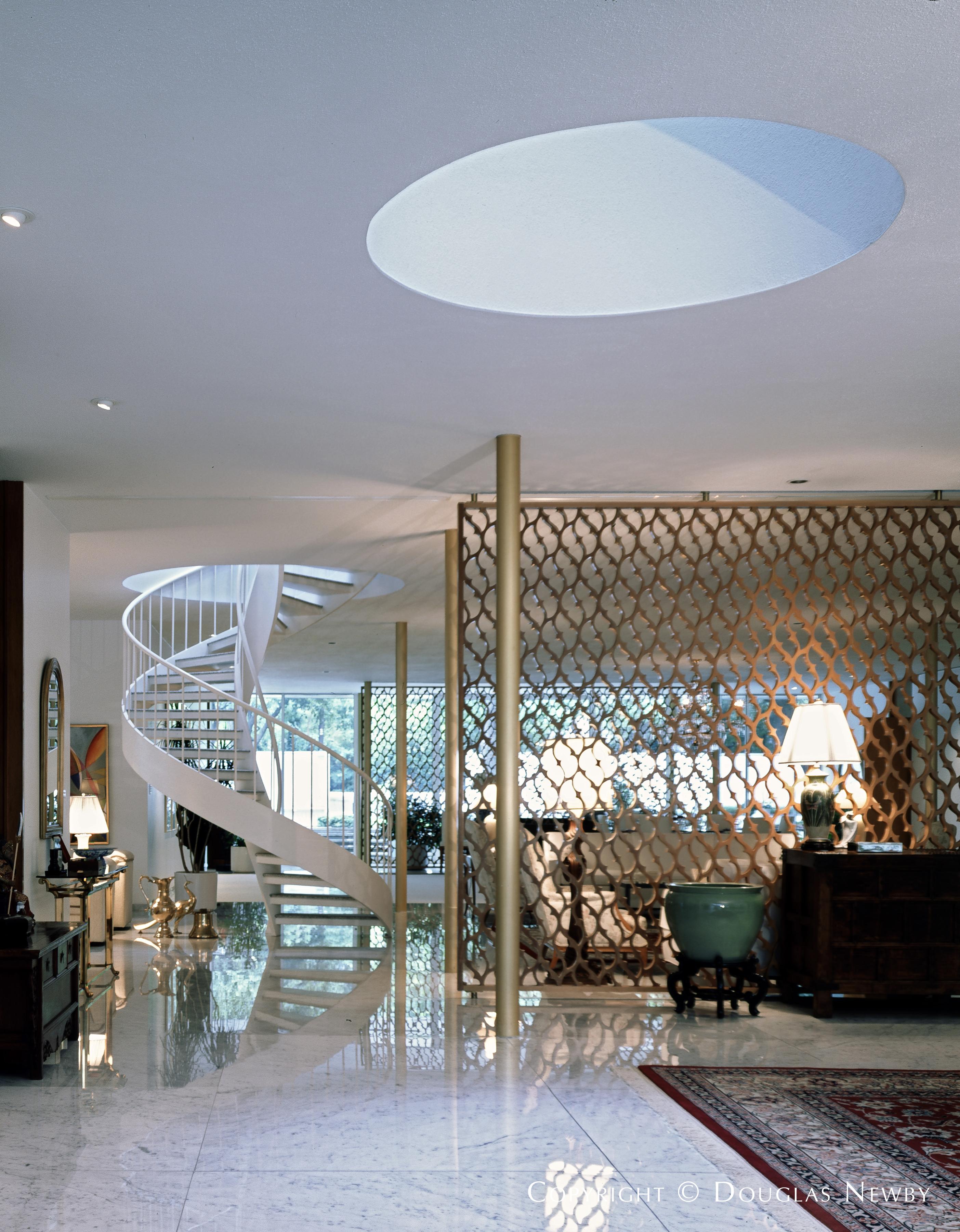 Inside Edward Durell Stone Designed Property