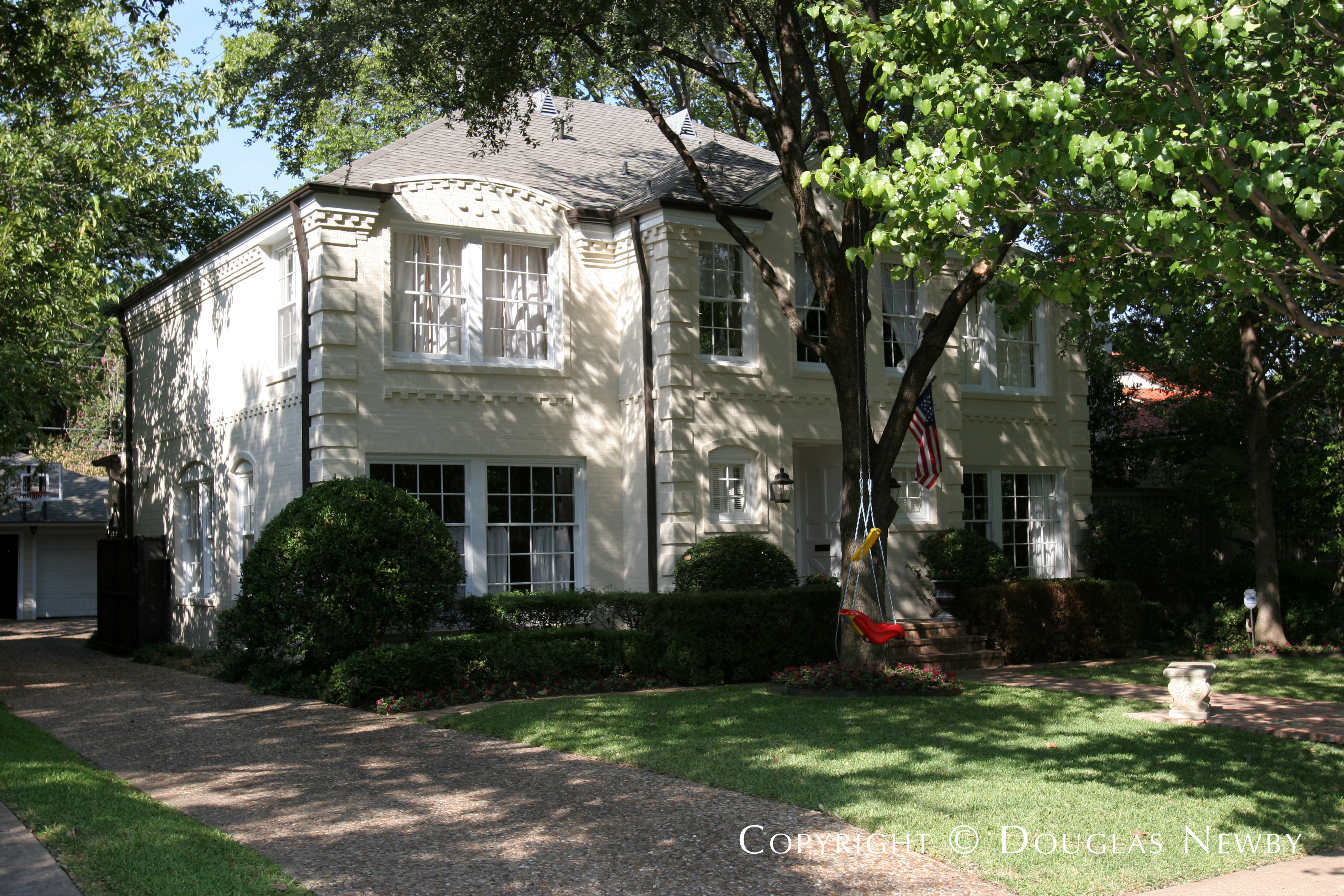 Architect Wade H. Klamberg Designed Home