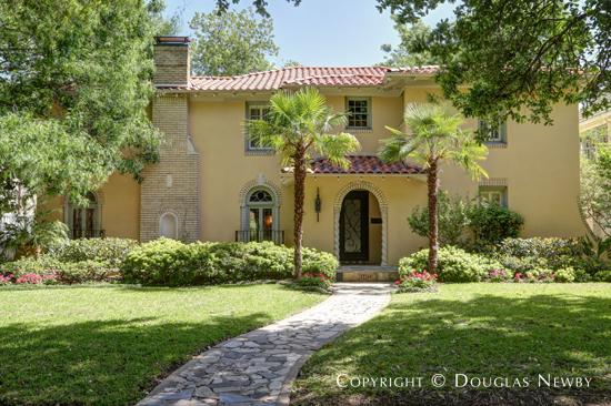 Mediterranean Home in Highland Park - 4421 Beverly Drive