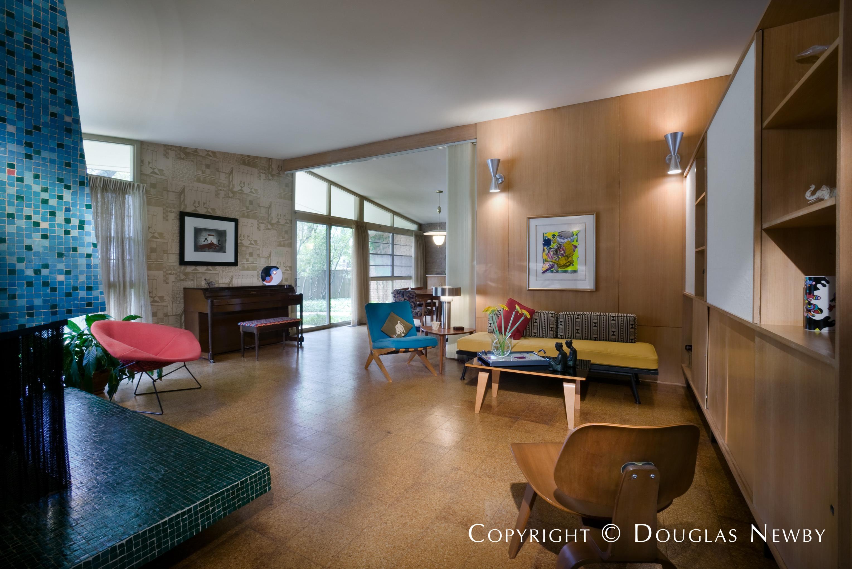 Architect William Benson Designed Home in Preston Hollow