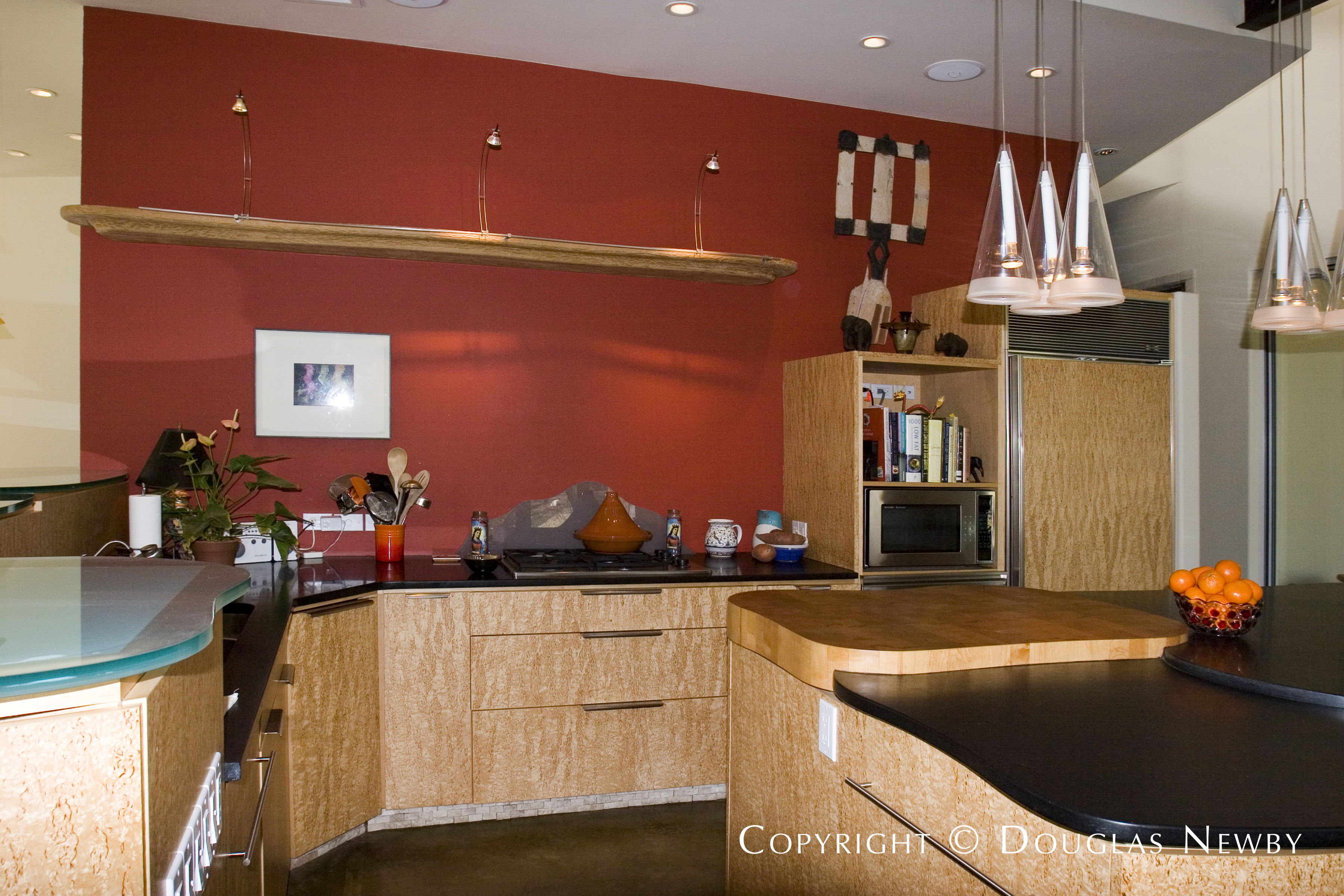 Architect Gary Gene Olp Designed Modern Home in Bluffview Area