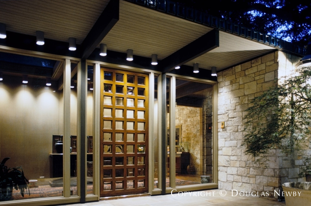 Scott Lyons Designed Architecturally Significant Texas Modern Estate Home