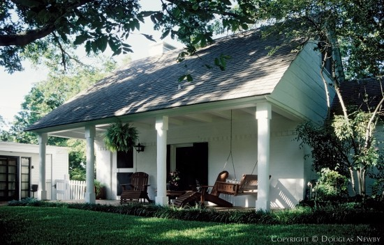 Significant Early Texas Modern Residence Designed by Architect O'Neil Ford - 4715 Watauga Road