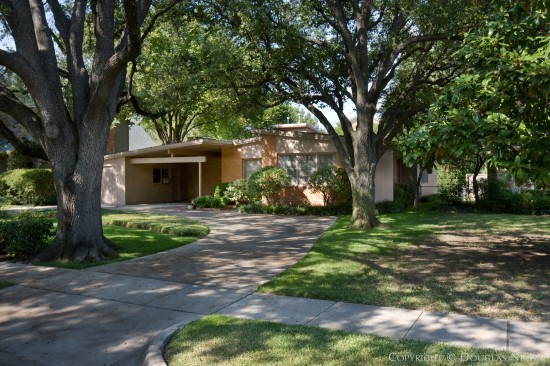Mid-Century Modern Home Designed by Architect Max M. Sandfield - 3928 Wentwood Drive