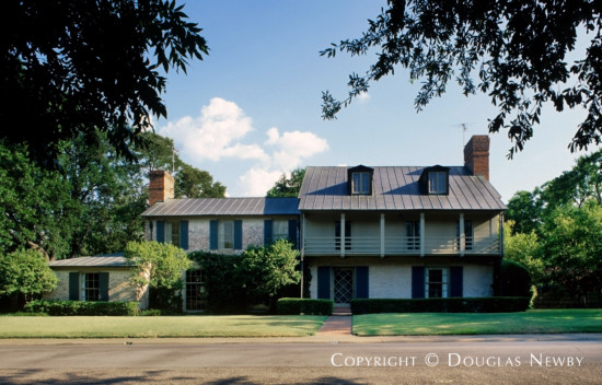 Significant Early Texas Modern Estate Home Designed by Architect David R. Williams - 3805 McFarlin Boulevard