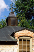 Standing Seam Metal Roof on Early Modern Home