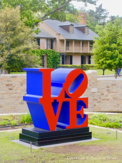 Architect John Mullen captures perfect image expressing the love architects have for the work of architect David R. Williams. Pictured is Texas Modern Home at 3805 McFarlin