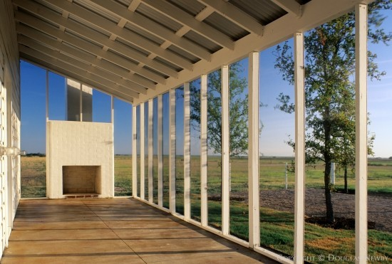 House Designed by Architect Max Levy - 2436 Jackson Road, Krum, Texas