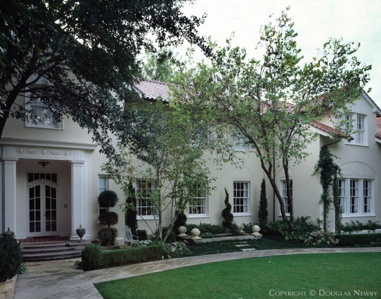 Significant Mediterranean House Designed by Architect Henry B. Thomson - 4726 Drexel Drive