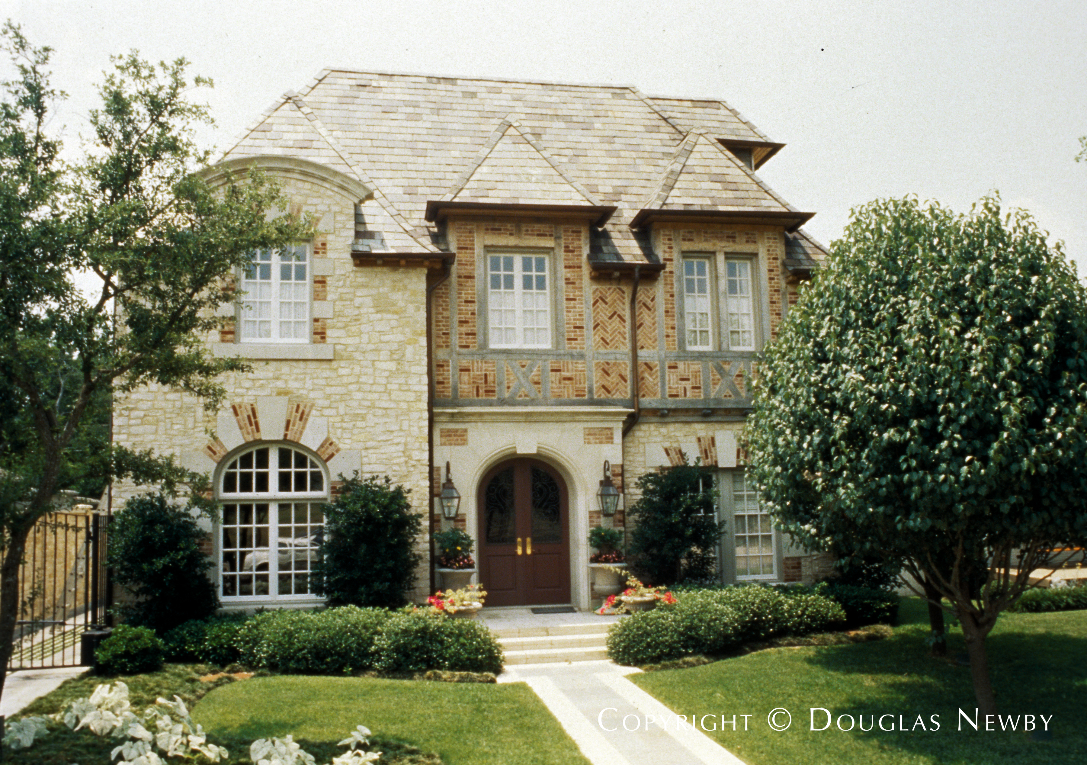 Architect Richard Drummond Davis Designed Normandy Home In Highland Park Neighborhood 4357 Southern Avenue Dallas Texas