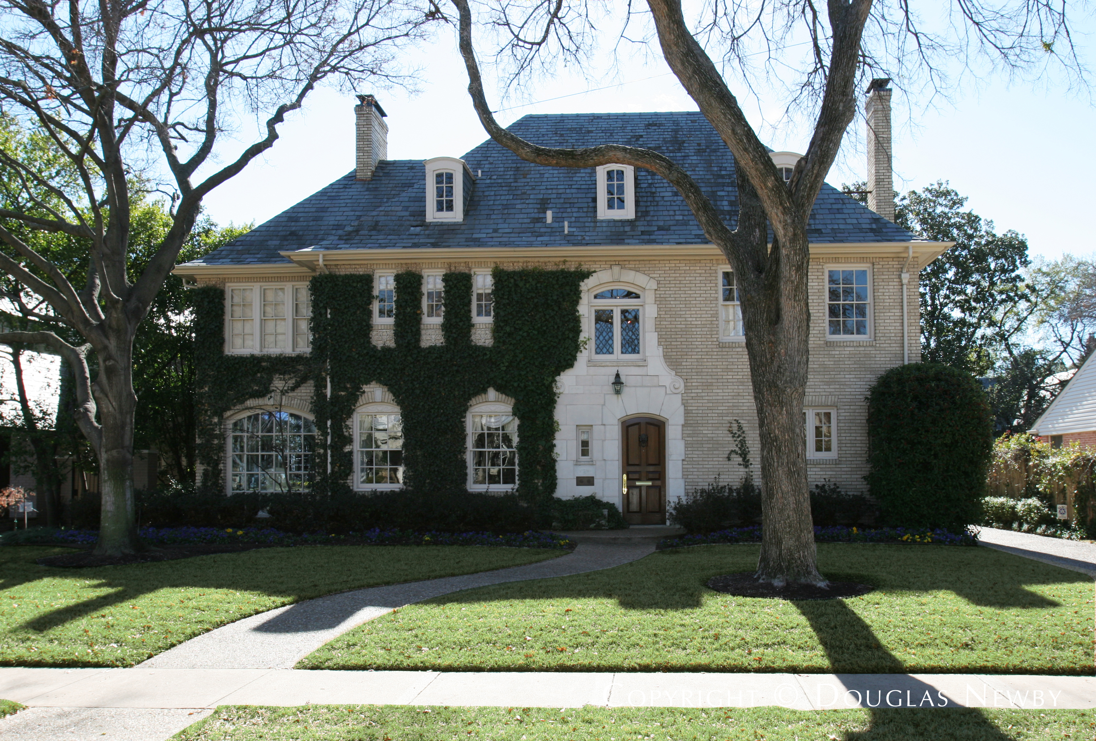 Clyde H. Griesenbeck Designed Home in Second Section of Highland Park West of Preston