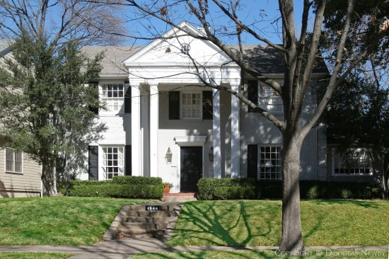 House Designed by Architect Hal O. Yoakum - 4544 Lorraine Avenue