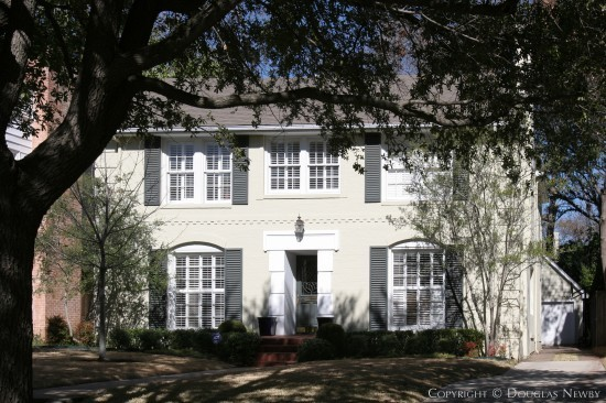 Home Designed by Architect Charles A. Barnett - 4524 Arcady Avenue