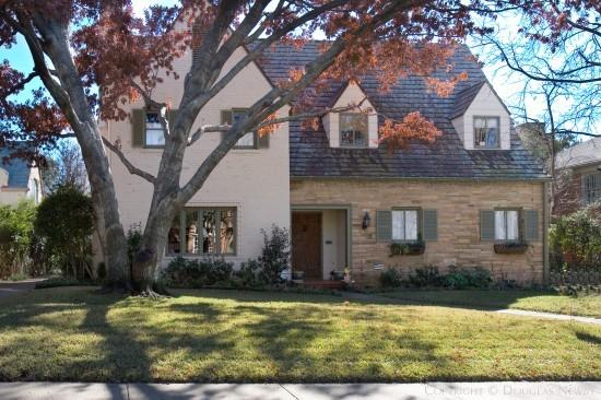 Residence Designed by Architect Hal O. Yoakum - 4411 Arcady Avenue