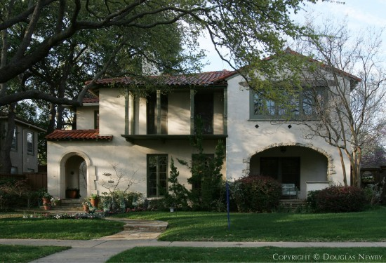 Home Designed by Architect Linskie & Witchell - 4530 Fairway Avenue
