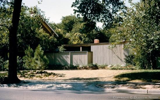 House Designed by Architect Oglesby Group - 3840 Mockingbird Lane
