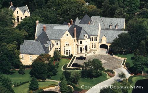 Estate Home Designed by Architect Richard Drummond Davis - 9707 Meadowbrook Drive