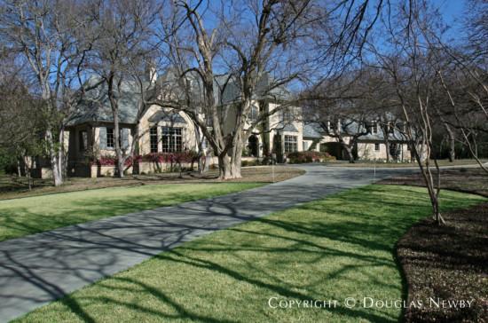Estate Home Designed by Architect Richard Drummond Davis - 4627 Miron Drive