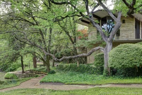 Texas Modern Estate Home Designed by Scott Lyons- 10210 Gaywood Road, Dallas, Texas