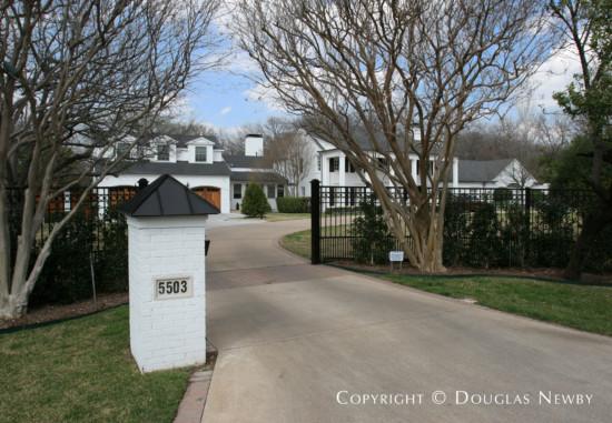 Estate Home in Preston Hollow - 5503 Kemper Court
