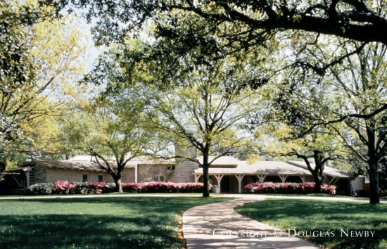 Estate Home Designed by Architect Charles S. Dilbeck - 5030 Shadywood Lane