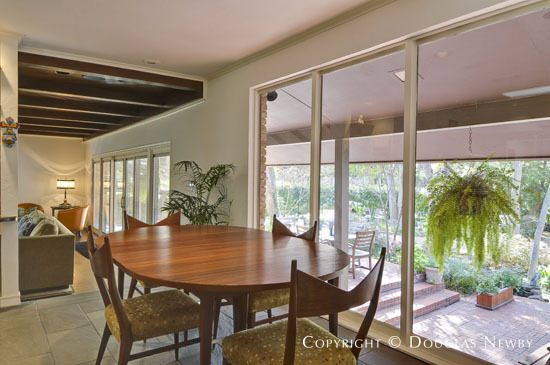 Mid-Century Modern House Designed by Architect Jeff Bargas - 11431 Saint Michaels Drive