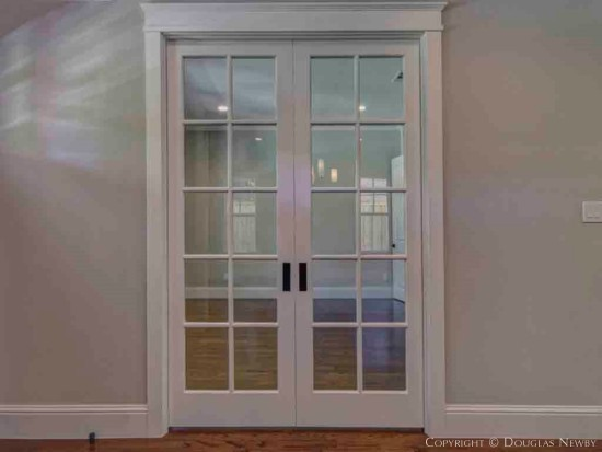 Munger Place Pocket Doors
