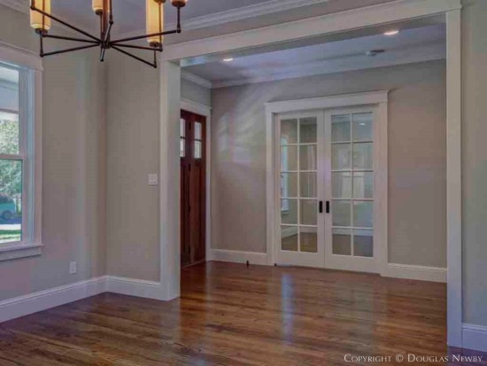 Munger Place Home Interior