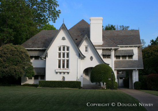 Home Designed by Architect M. Barnett - 5816 Swiss Avenue