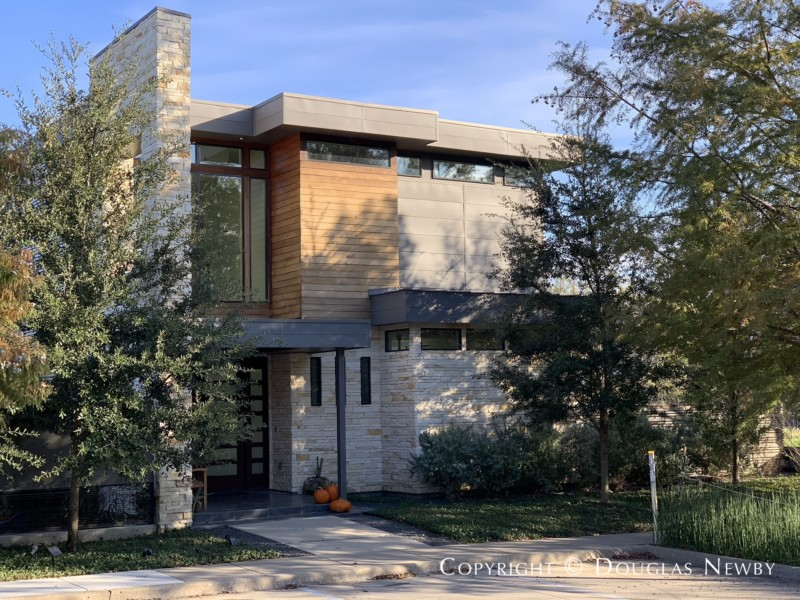 Architect-Designed by Joshua Nimmo, 38 Vanguard Way, Modern House of Urban Reserve Neighborhood, East Dallas