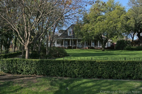 Estate Home in White Rock Lake - 3443 West Lawther Drive