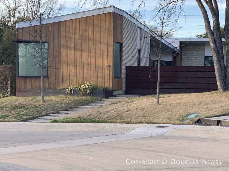 Architect-Designed by Bang Dang of Far+Dang, 68 Vanguard Way, in Urban Reserve Neighborhood of East Dallas