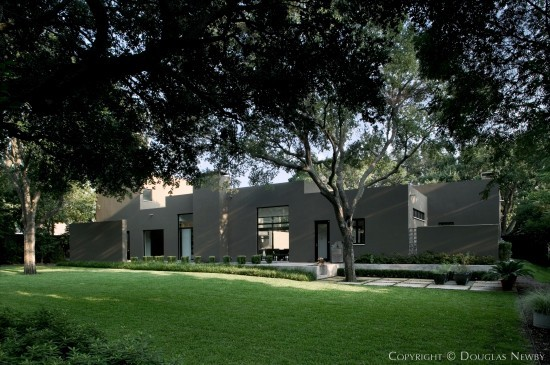 Modern Home Designed by Architect Lionel Morrison - 5753 Berkshire Lane